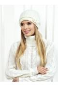 Белая шапка Landre Беатрис