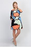 Платье-трапеция Emka Fashion PL-468/riviera
