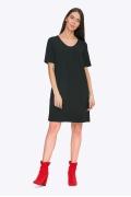 Маленькое черное платье в стиле Коко Шанель Emka PL757/hazel