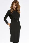 Чёрное трикотажное платье Ennywear 220057