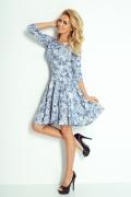 Расклешенное платье Numoco 105-1