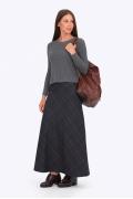 Длинная юбка Emka Fashion 314-lamb