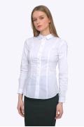 Женская приталенная рубашка Emka B2292/amina