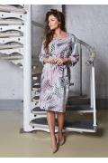 Летнее хлопковое платье TopDesign A8 030