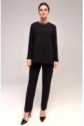 Чёрные женские брюки TopDesign B7 126