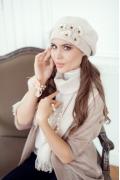 Женский шарф с кисточками Landre Z6315 (несколько цветов)