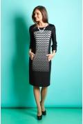 Платье из трикотажа TopDesign B5 056