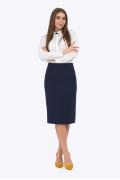 Тёмно-синяя юбка Emka Fashion 669-arein