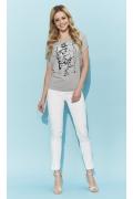 Стильная летняя блузка с принтом Zaps Suria