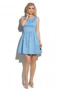 Коктейльное платье из жаккарда Donna Saggia DSP-278-81