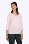 Легкая блузка пастельно-розового цвета Emka b 2185/coldi