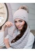 Женская вязаная шапка Veilo 32.22А
