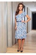 Летнее платье (коллекция весна-лето 2017) TopDesign A7 137