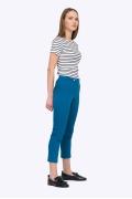 Летние укороченные брюки синего цвета D076/marsel