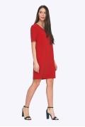 Красное весеннее платье Emka PL757/holly