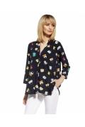 Летняя блузка свободного кроя Enny 230057