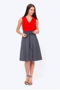 Стильная расклешенная юбка Emka Fashion 247/letisiya
