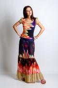 Комплект юбка + блузка TopDesign Premium PA4 35