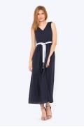 Тёмно-синее летнее платье Emka PL-633/atemi