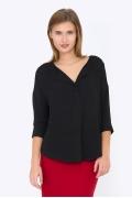 Чёрная блузка Emka Fashion b 2203/furla