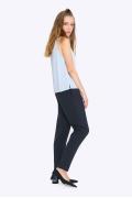 Женские брюки со складками Emka D044/anara