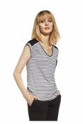 Летняя блузка в морском стиле Enny 230086