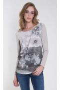 Свободная трикотажная блузка Zaps Odetta