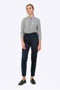 Темно-синие брюки длиной 7/8 Emka D114/modesta