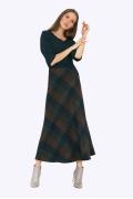 Тёплая шерстяная юбка-трапеция Emka S314/laftiya