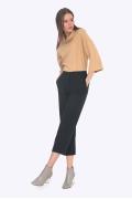 Женские брюки-кюлоты с карманами Emka D072/delfina