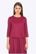 Женская блузка малинового цвета Emka B2261/claver