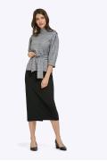 Облегающая юбка чёрного цвета Emka 501/milisa