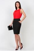 Классическая офисная юбка Emka Fashion 212-almaza