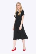 Расклешенное шифоновое платье Emka PL-678/benjamin