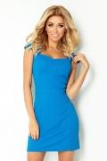 Синее платье Numoco 118-4