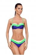 Сине-зеленый купальник Viva La Donna 037-2