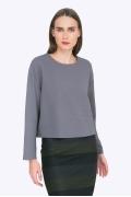 Укороченная блузка свободного кроя Emka B2275/galsana