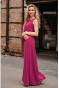 Длинное в пол трикотажное платье Donna Saggia DSP-342-68t