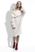 Платье с большим воротником гольф Fimfi I224