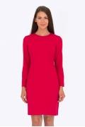 Малиновое платье Emka Fashion PL-555/peris