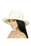 Летняя шляпка бежевого цвета Del Mare 002-09