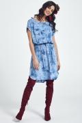 Лёгкое летнее платье синего цвета Ennywear 250064