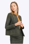 Жакет с длинными рукавами в стиле шанель Emka ML567/newark