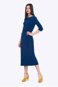 Синее платье Emka PL753/stalk
