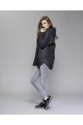 Чёрная женская куртка Zaps Hess