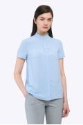Женская рубашка с оборкой по горловине Emka B2243/lullaby