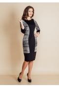 Трикотажное платье TopDesign B6 033