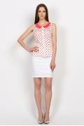 Блузка с воротничком Emka Fashion b 2152/milit