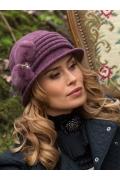 Шикарная женская шляпка с декором Willi Zejla Divalo