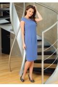 Летнее платье с коротким рукавом TopDesign Premium PA7 34